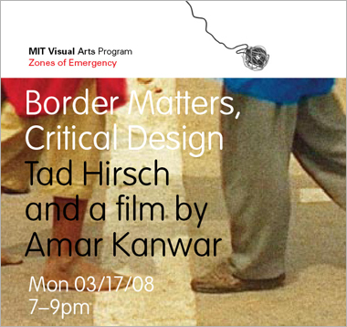 Border Matters, Critical Design